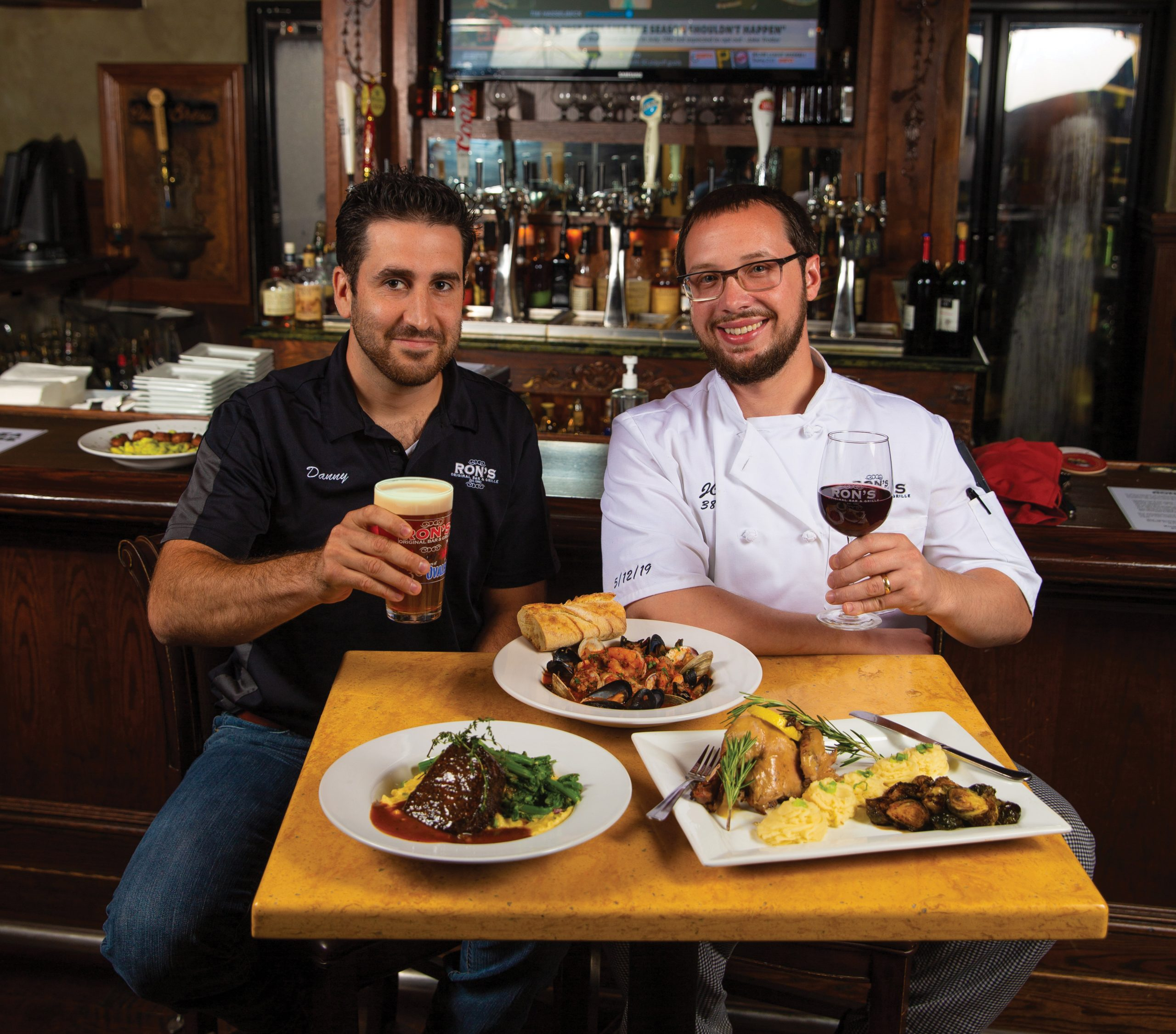 Amid the Virus: Ron's Original Bar & Grille Gets Better at Getting Better