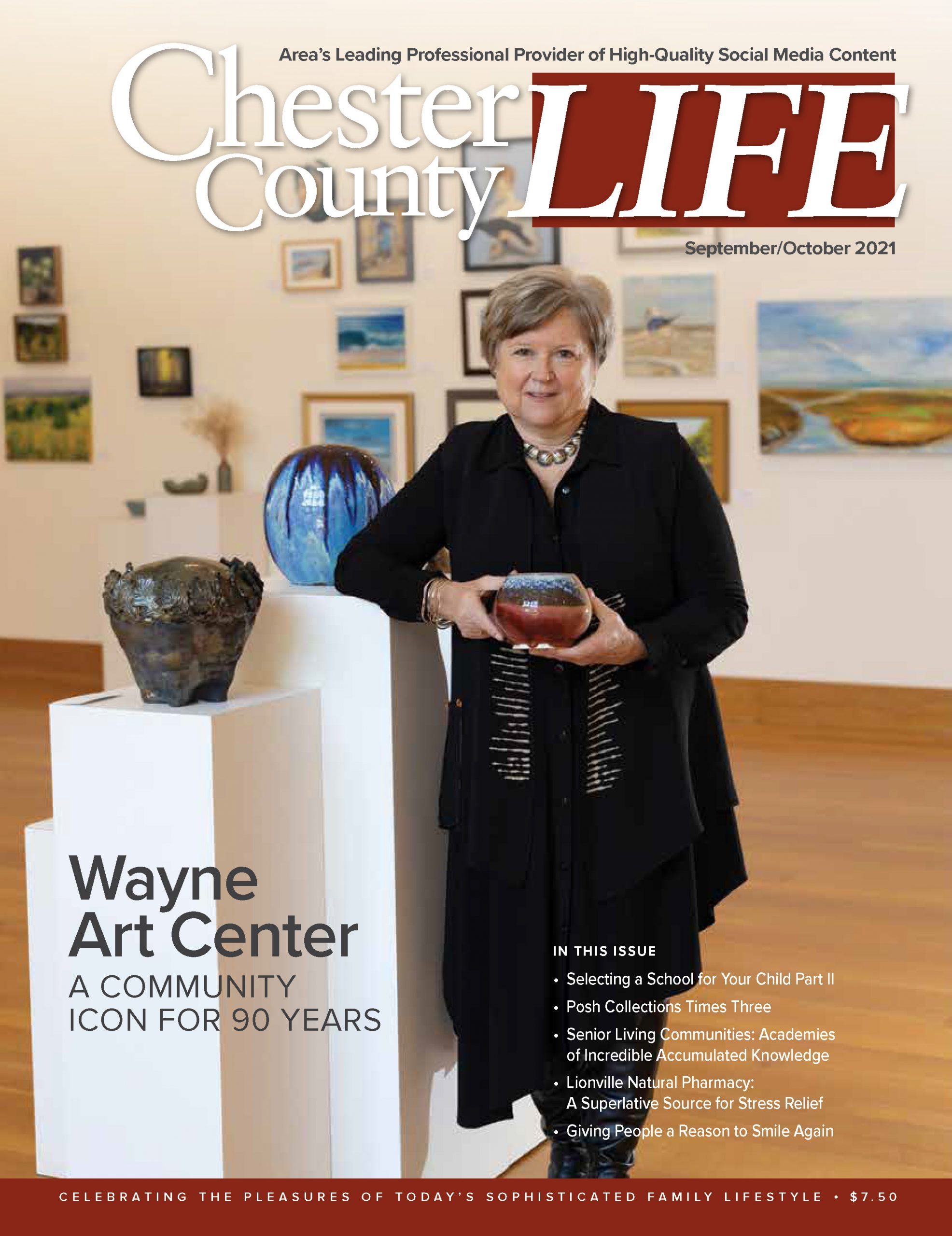 The cover of Chester County Life Magazine: September / October 2021